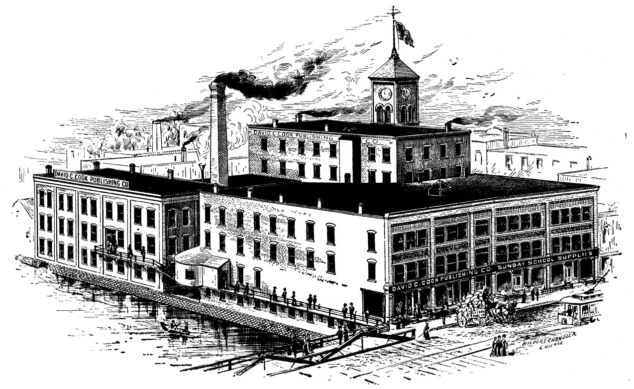 Early image of David C Cook publishing house