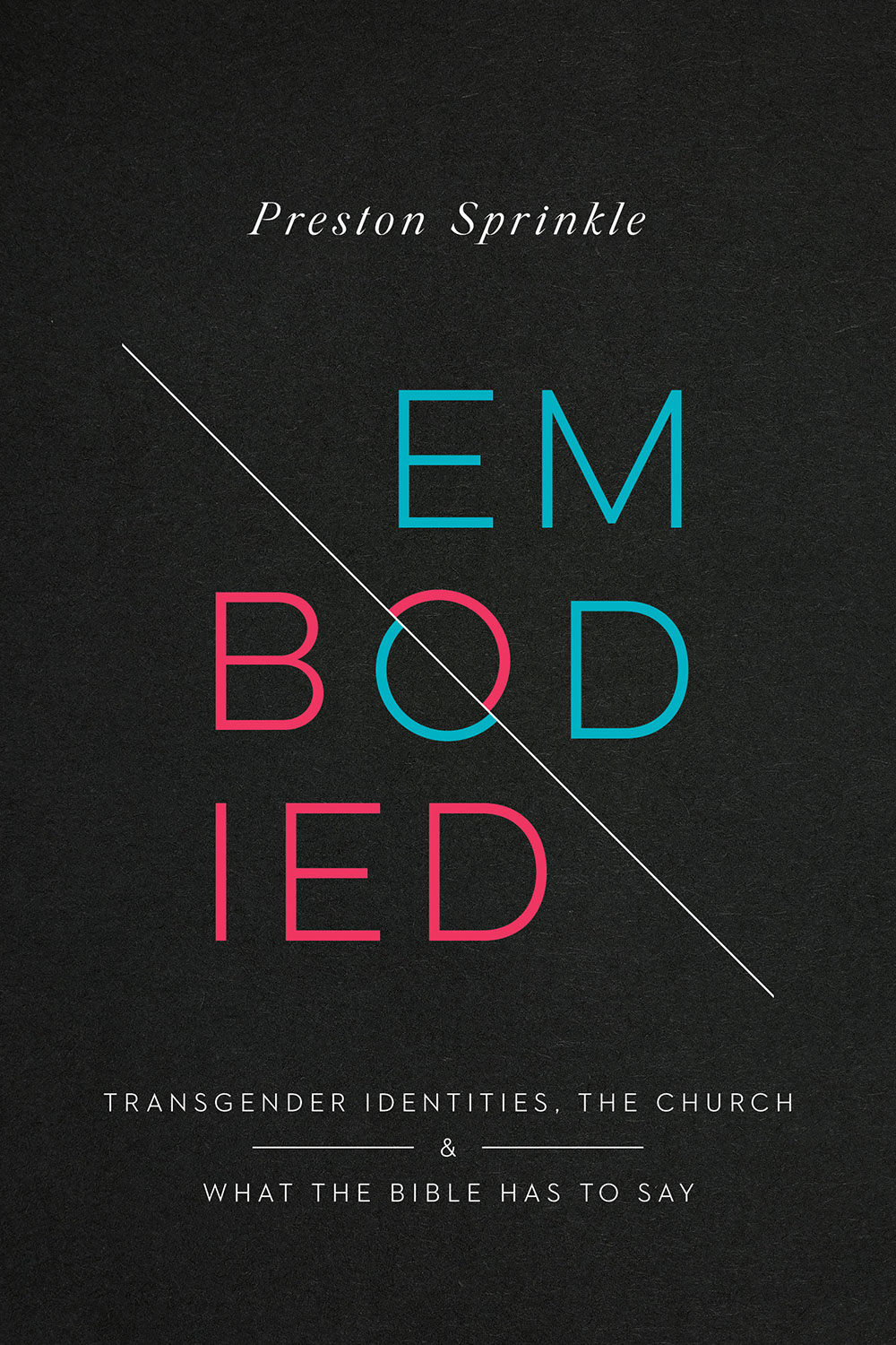 Embodied book cover